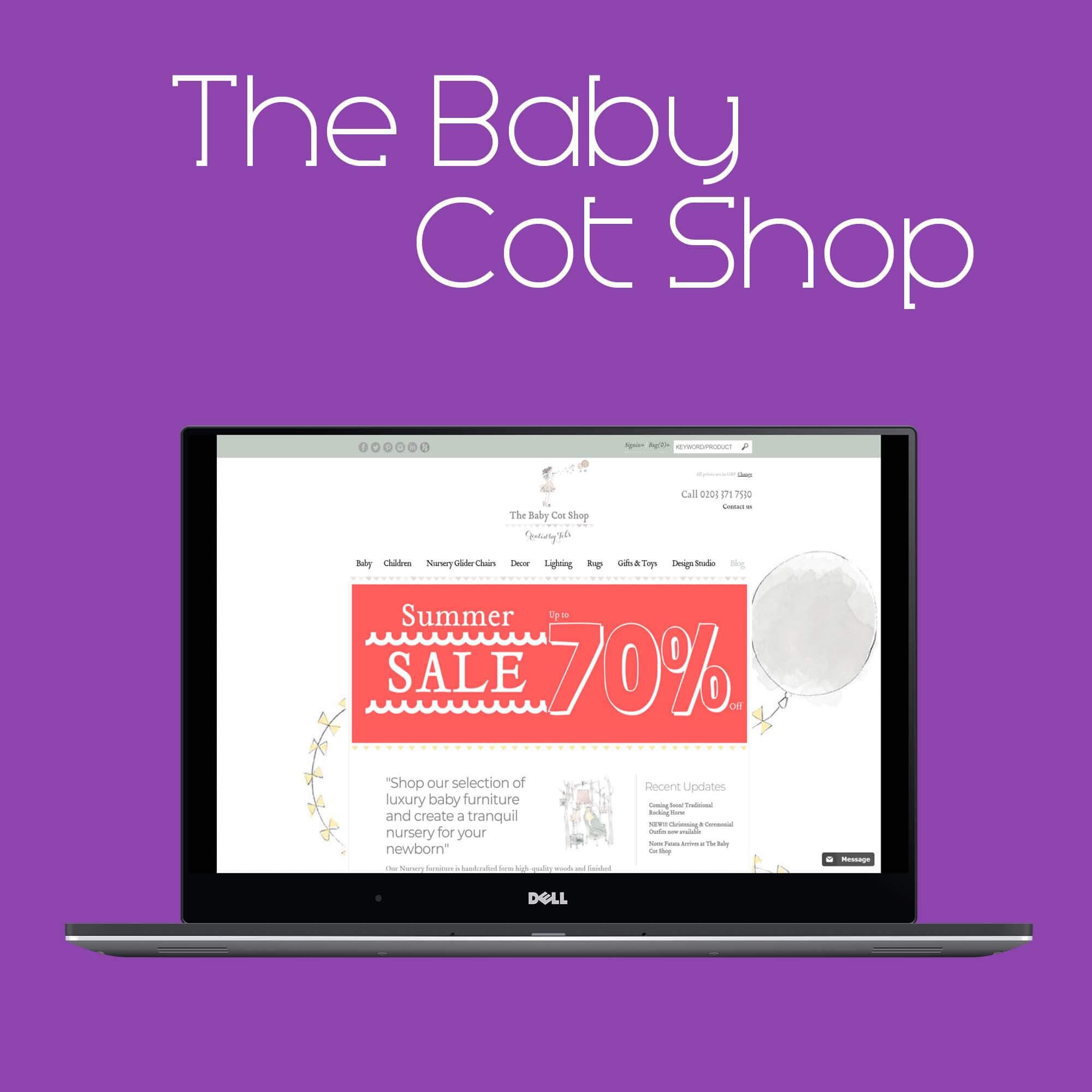 www.thebabycotshop
